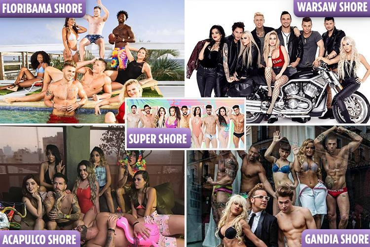 Did you know there are FIVE other versions of Geordie Shore and Jersey Shore around the world – and they're even more outrageous than ours