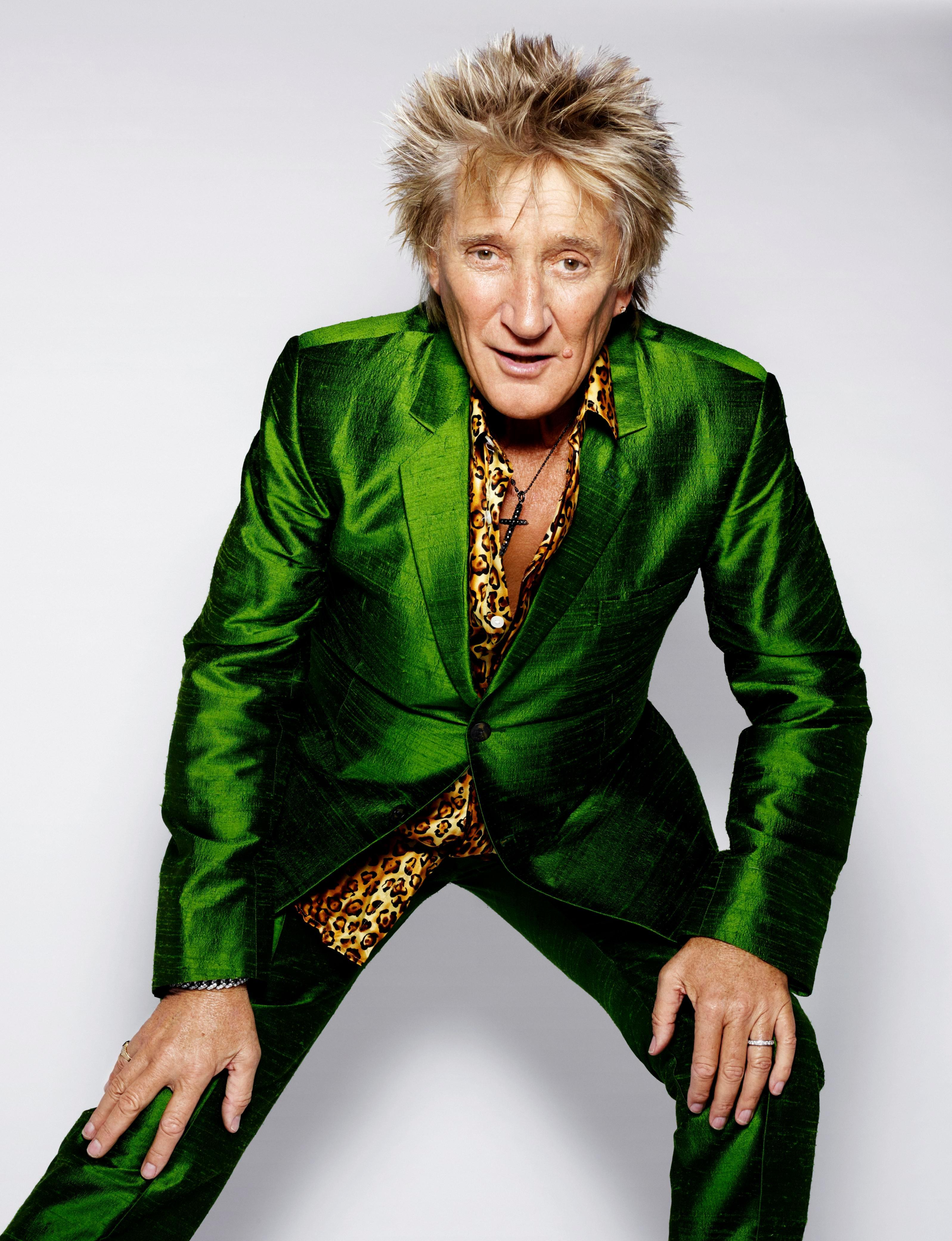Rod Stewart makes emotional return to the music scene with new single Didn't I