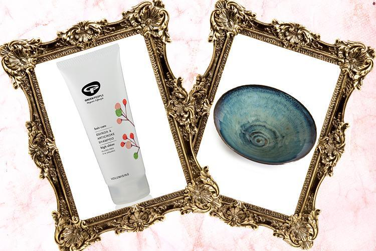Volumising shampoo and an aquamarine bowl… here's what we're lusting after today