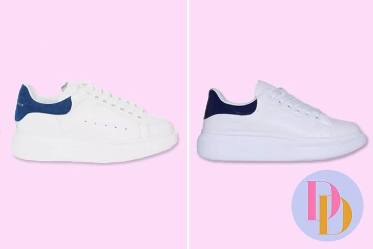 EGO is selling a £9.99 version of Alexander McQueen's £360 designer trainers – can you tell the difference?