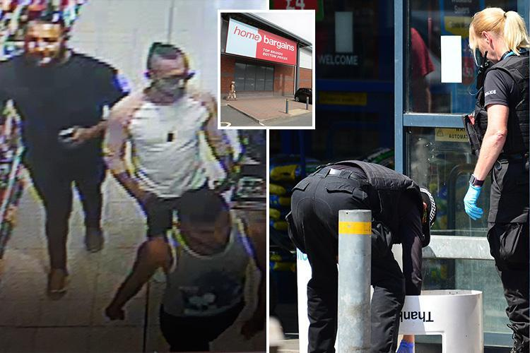 Worcester acid attack – Boy, 3, was sitting in pram outside Home Bargains on family shopping trip as police hunt three men