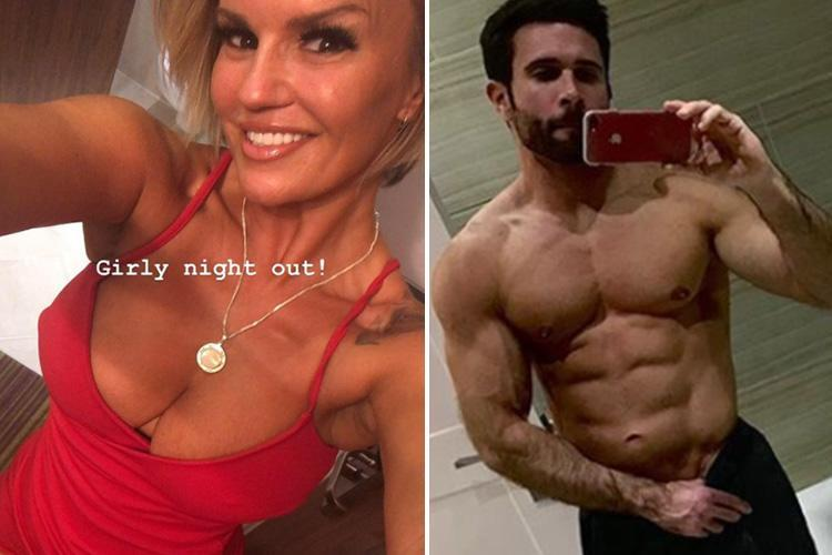 Kerry Katona's mystery new man revealed as hunky personal trainer she met on Bumble after confessing she's 'officially taken'