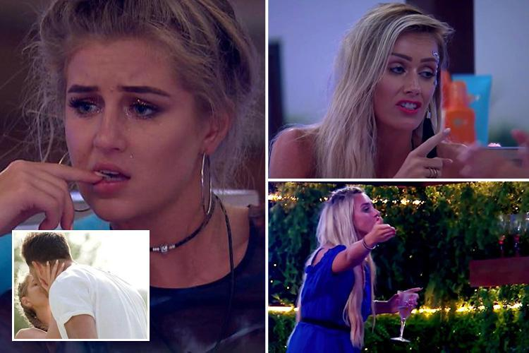 Love Island's fans call out Georgia for lying over kiss with Jack after villa descends into chaos
