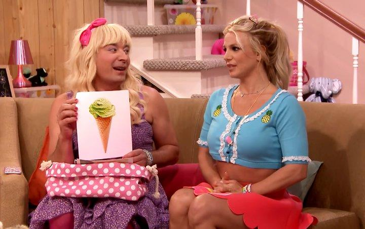 Video: Britney Spears Crushes on Steve Carell in 'EW!' Sketch With Jimmy Fallon