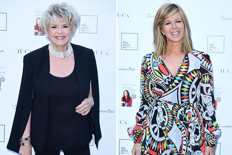 Gloria Hunniford calls Kate Garraway 'pathetic' after revealing sex in her 50s is better than in her 20s