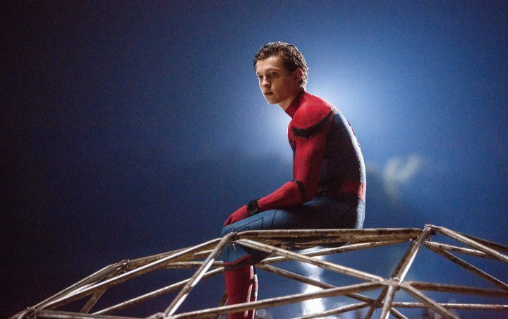 Pics: First Look at Tom Holland on 'Spider-Man: Far From Home' Set