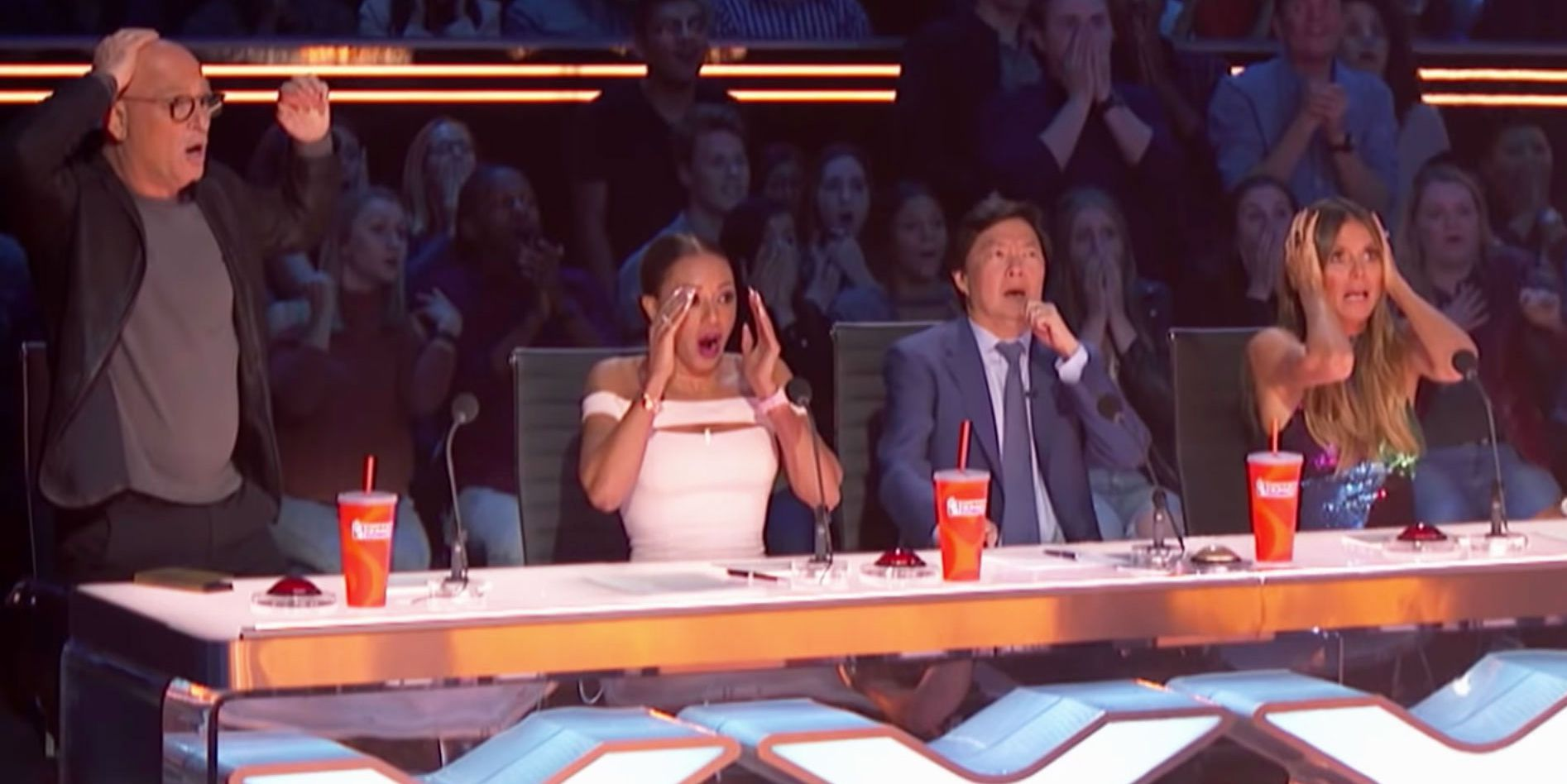 Woman From 'America's Got Talent' Trapeze Act Plunges to the Ground in Front of Audience
