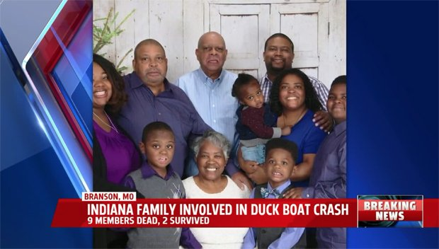 Duck Boat Survivor Cries Over 9 Relatives' Drowning & Reveals Captain Said They Didn't Need Life Vests