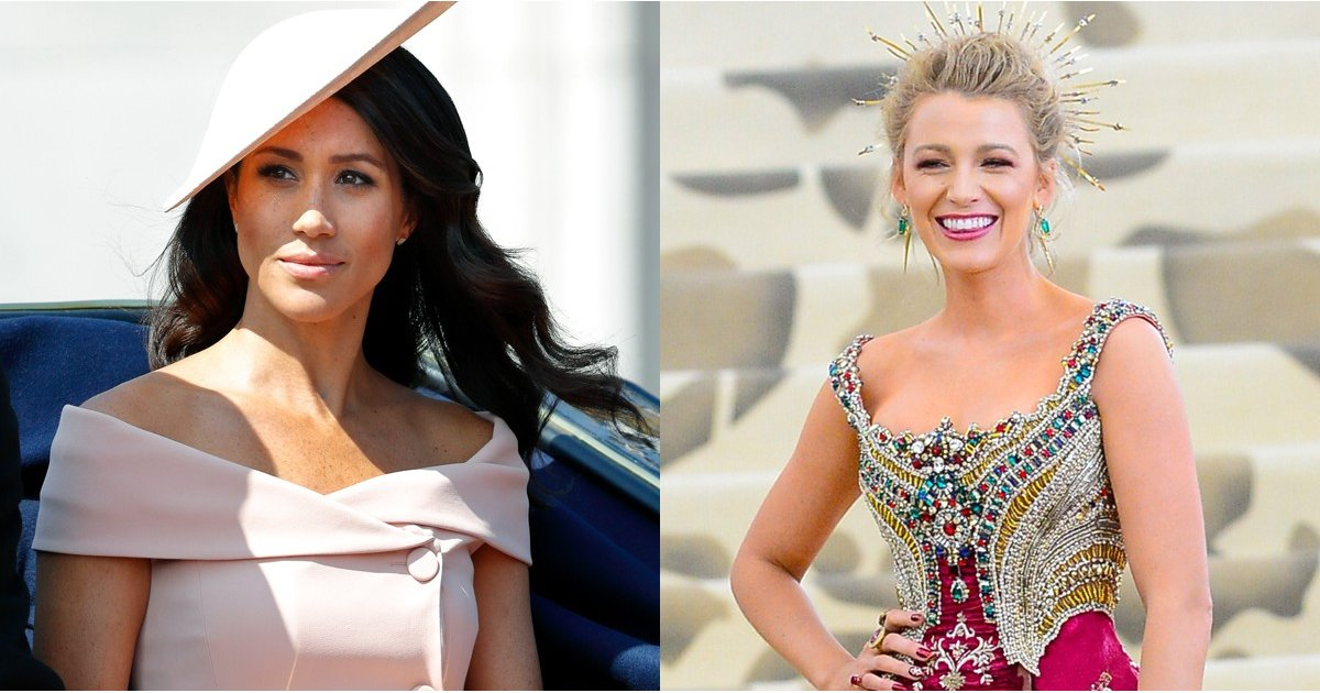 Meghan Markle and Blake Lively Are Both Up For the Same Style Award —Consider Us Torn