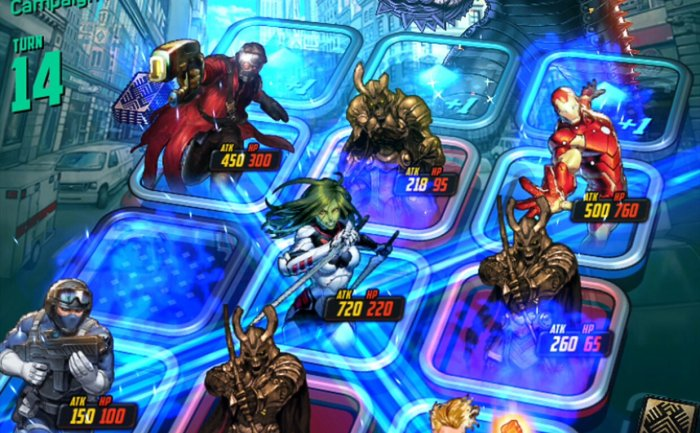 Build the Ultimate Deck of Heroes in 'Marvel Battle Lines'