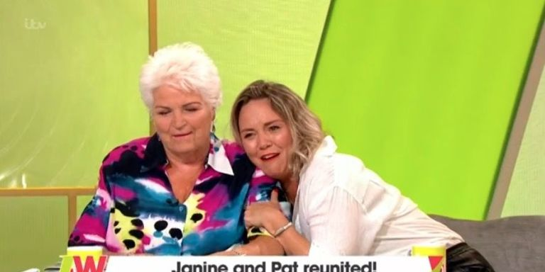 EastEnders stars Pam St Clement and Charlie Brooks have Pat and Janine Butcher reunion on Loose Women