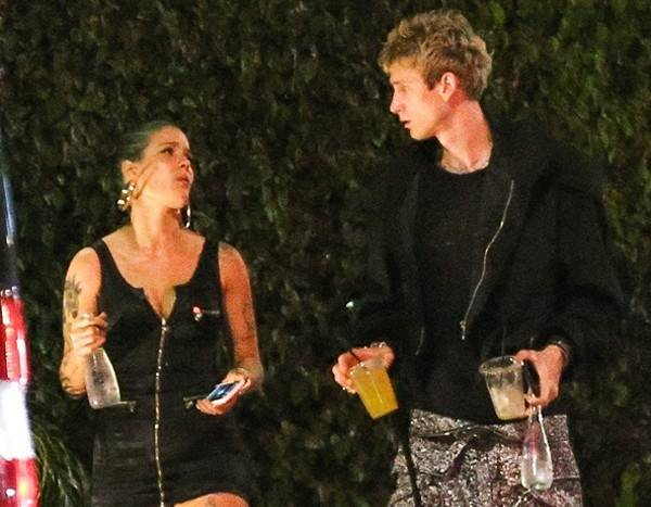 Halsey Spotted With Machine Gun Kelly Before G-Eazy Split