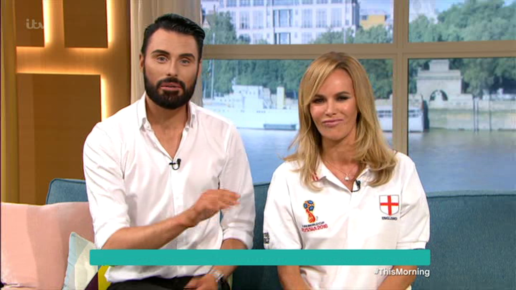 Amanda Holden makes World Cup blunder as she says England are playing the FINAL tomorrow