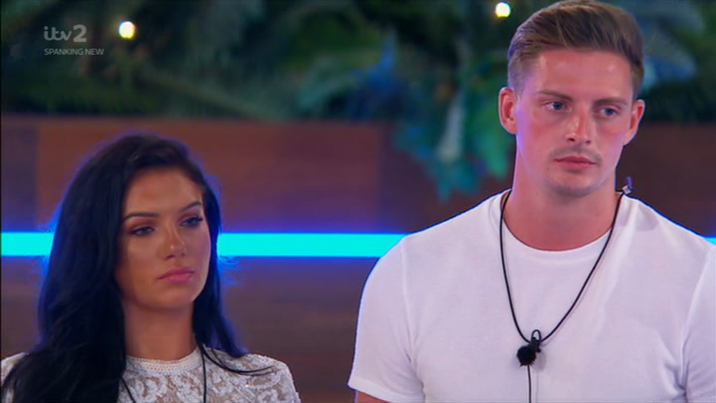 Love Island's Alex George DENIES leading on Alexandra Cane after THAT furious row as they're dumped from the villa