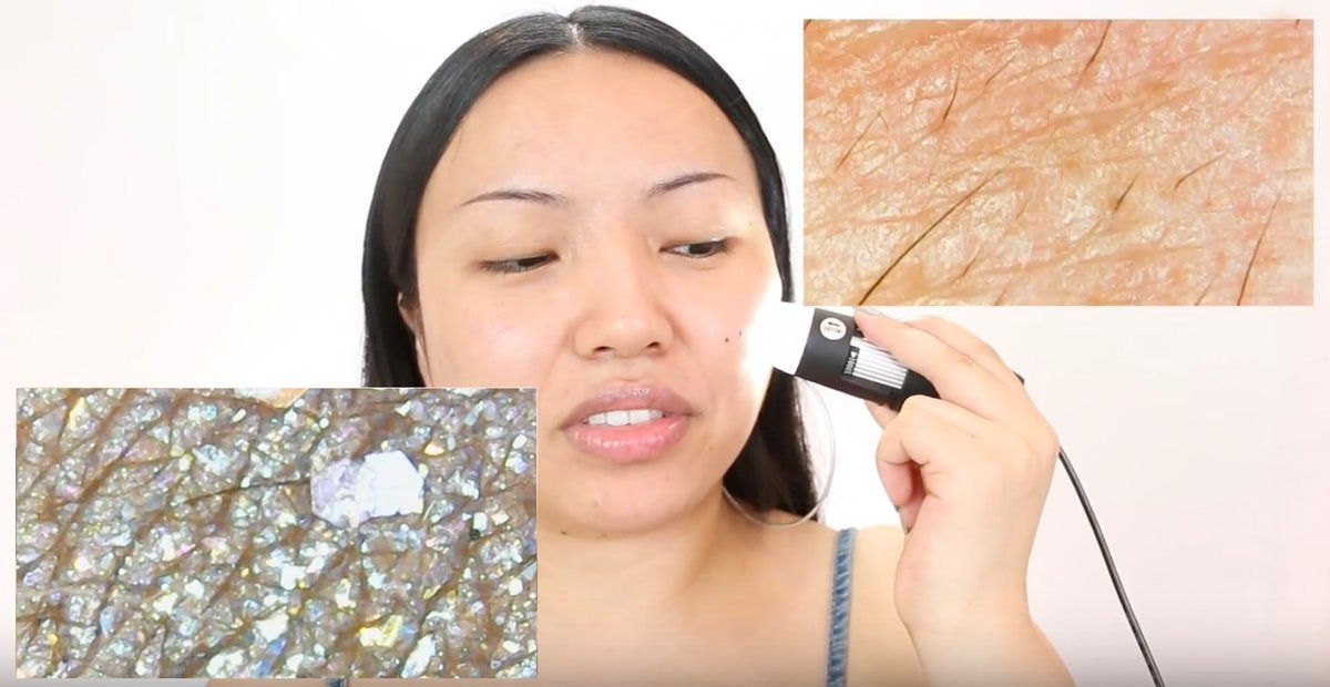 This Video Showing Makeup Under A Microscope Is The Coolest & Strangest Thing You'll Watch Today
