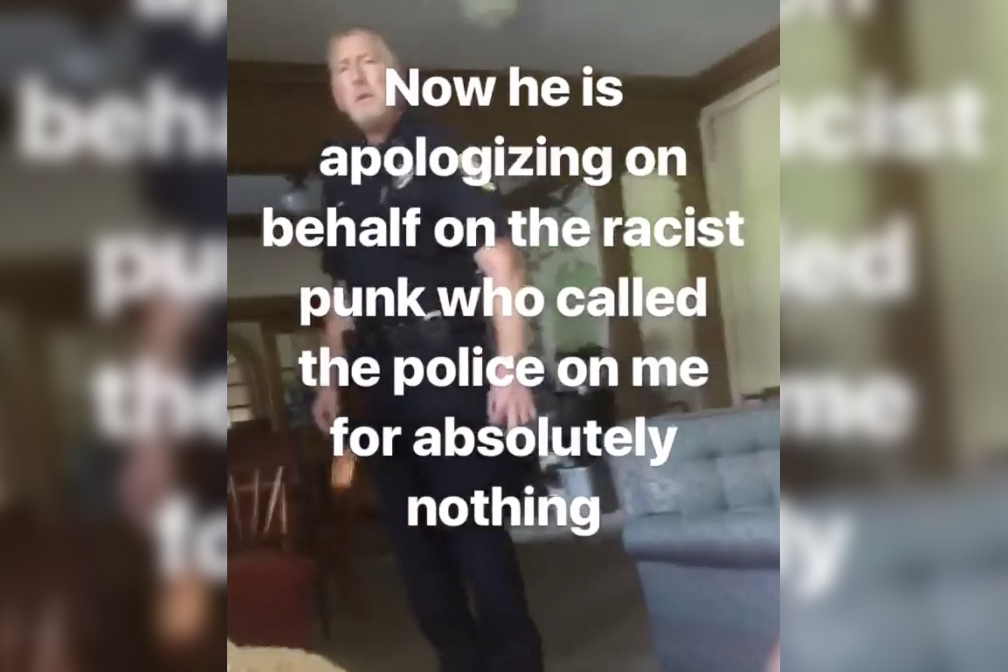 Black student claims white staffer called cops on her for reading