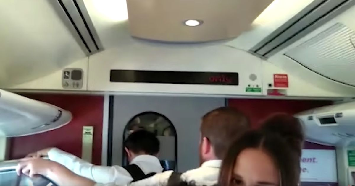 CrossCountry commuters outraged as rude message flashes across screens on train
