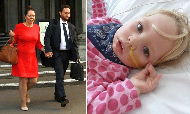 Parents whose baby daughter left disabled lose NHS compensation fight