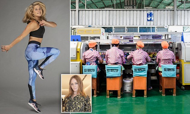 Stella McCartney's new line made in factory paying workers 98p an hour