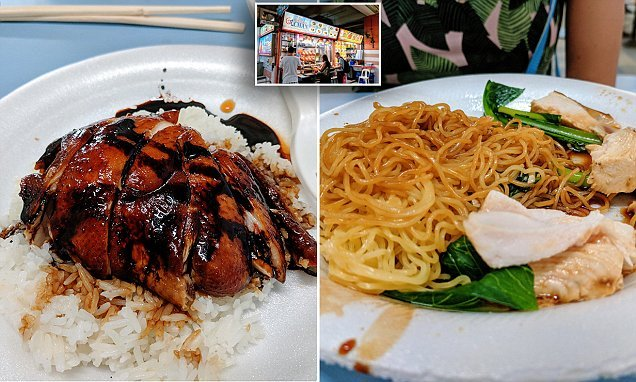 Inside the canteen serving the world's CHEAPEST Michelin-starred food