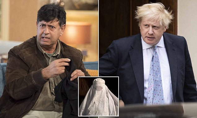 Boris should not apologise for telling truth about burka, says Imam