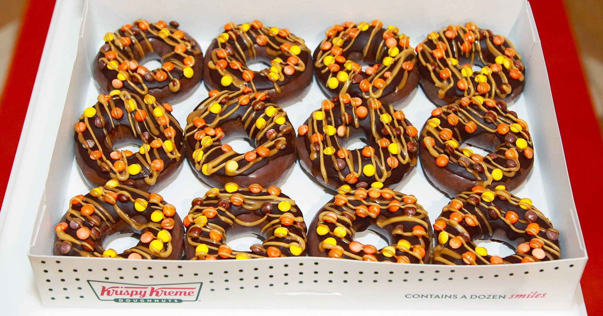 Krispy Kreme Reese's Outrageous Doughnut Is the First of Its Kind