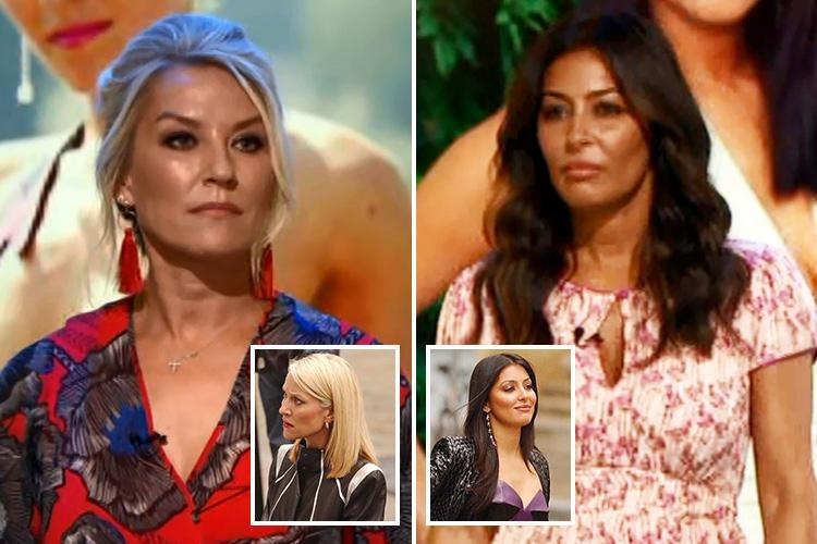 Footballers' Wives stars Zoe Lucker and Laila Rouass confirm they're hoping to return for a new series as they reunite on TV for the first time in nine years