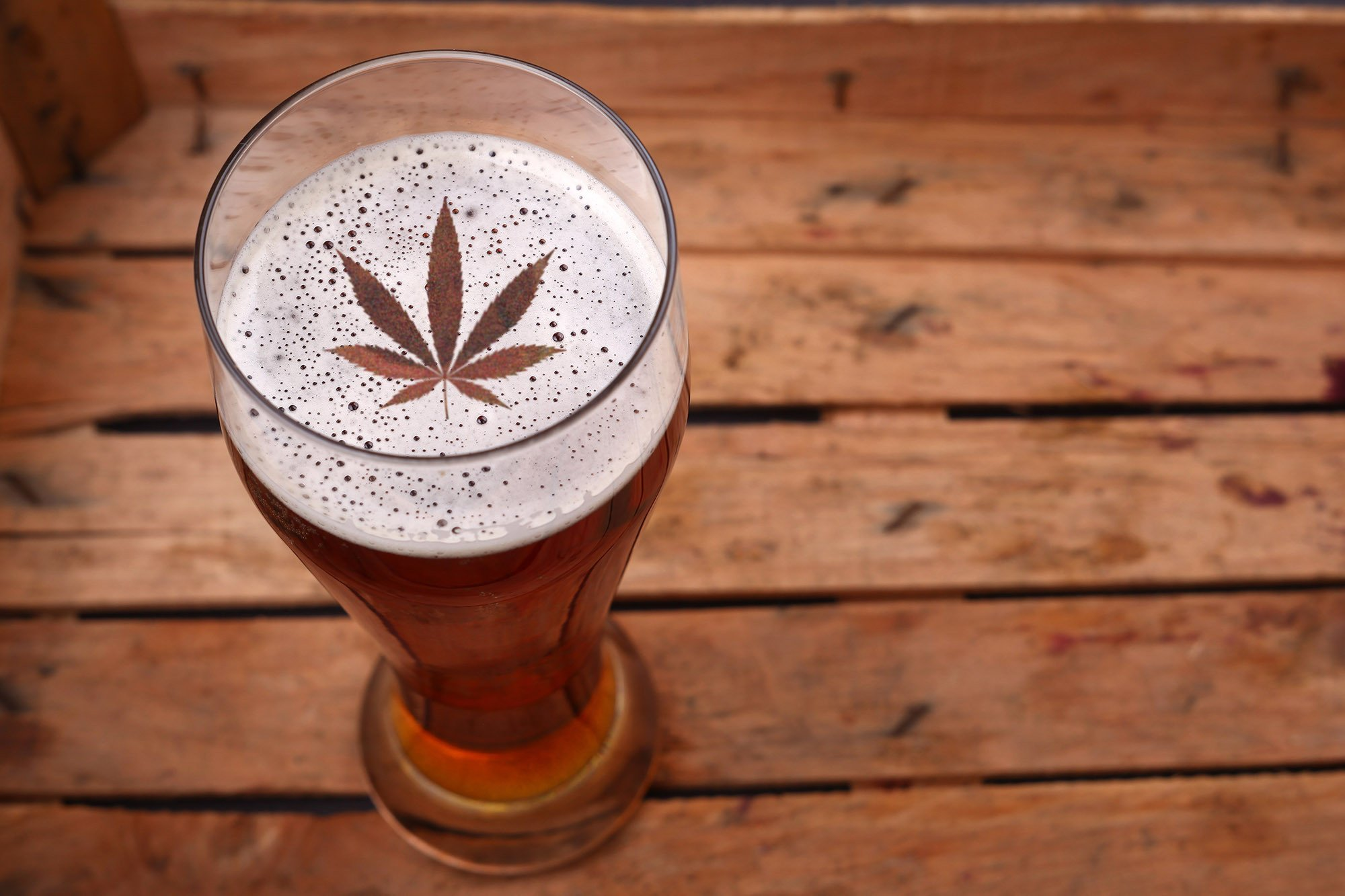 Weed beer is near, and it's gonna be weird
