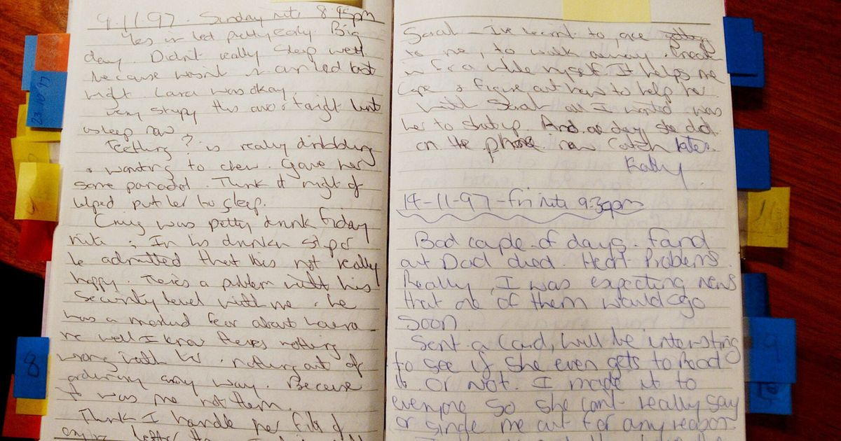 Chilling diary entries of mum who killed her four children