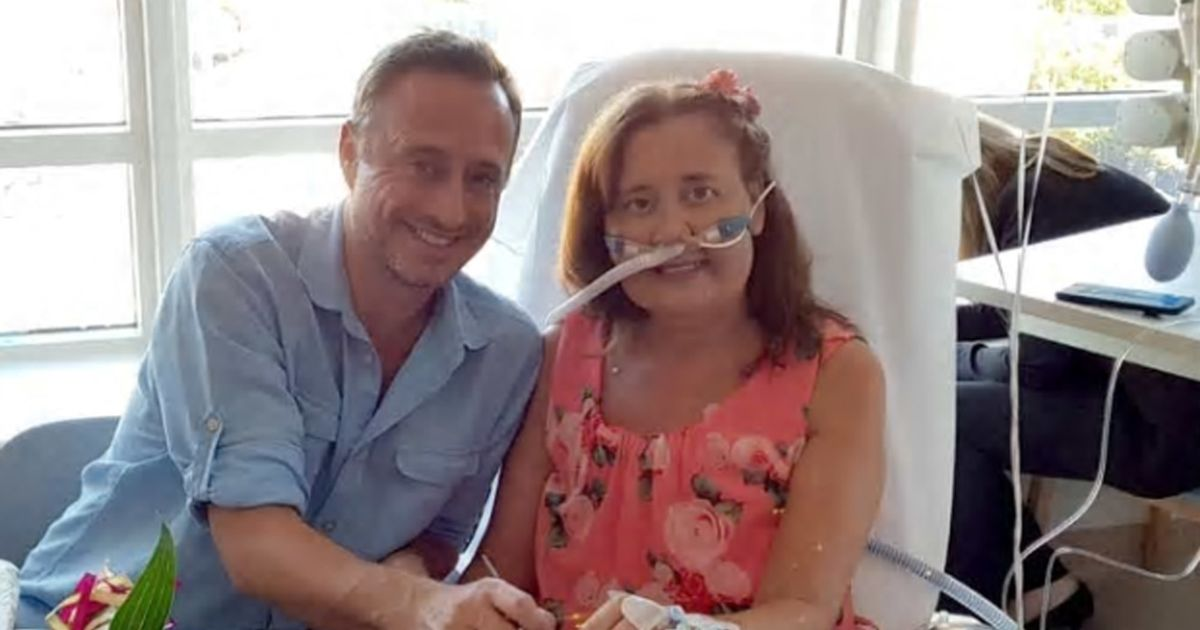 Mum who got married after being told she'd hours to live makes miracle recovery