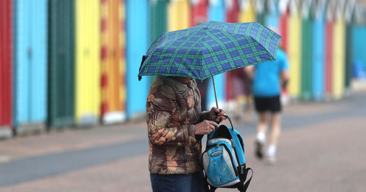 Mixed showers and dry spells but today is expected to be hottest day of week