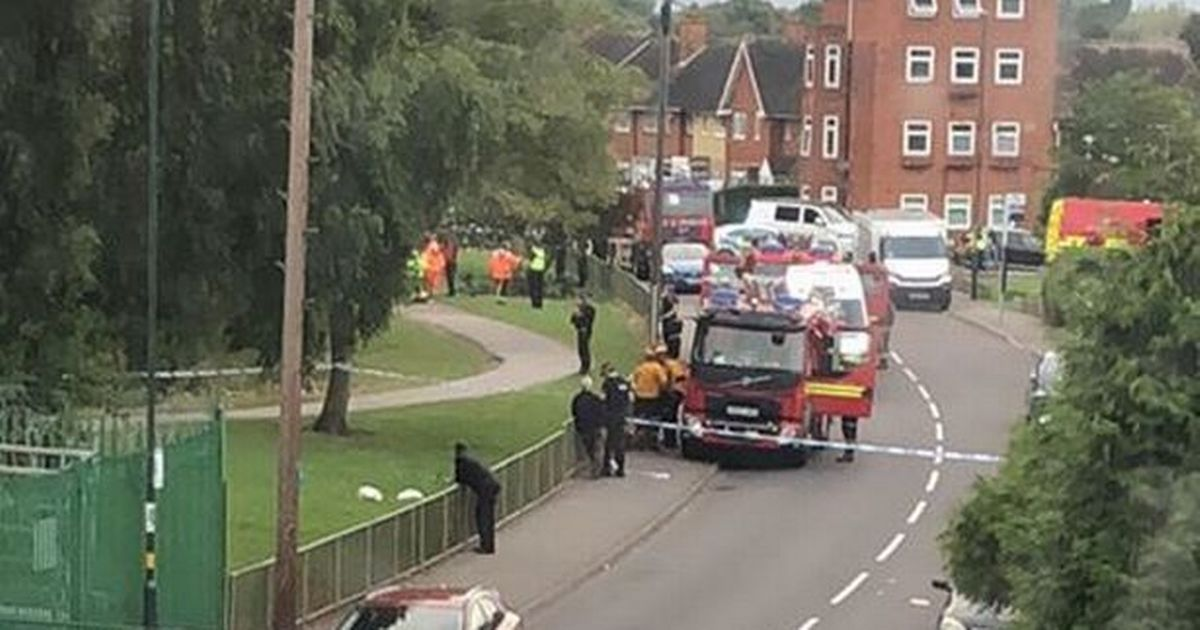 Police divers search lake after man walked into water and disappeared