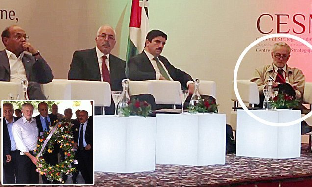 Corbyn shared platform with controversial speakers at Tunisian event