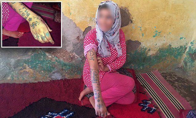 Girl, 17, sold to gang who raped and tattooed her in ordeal in Morocco