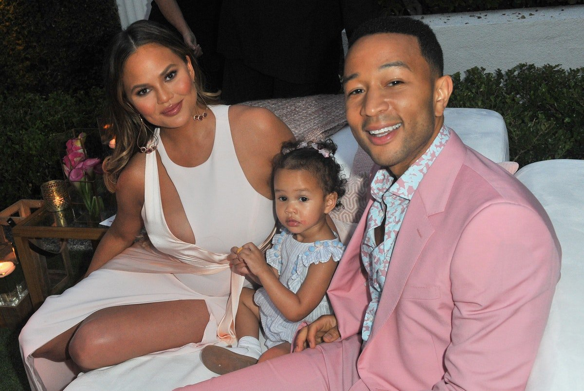 Chrissy Teigen's Struggle To Get Luna To Smile Is Way Too Relatable