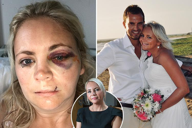 Mum who was outwardly living a perfect life with loving husband suffered secret hell as he battered her – even when she was pregnant