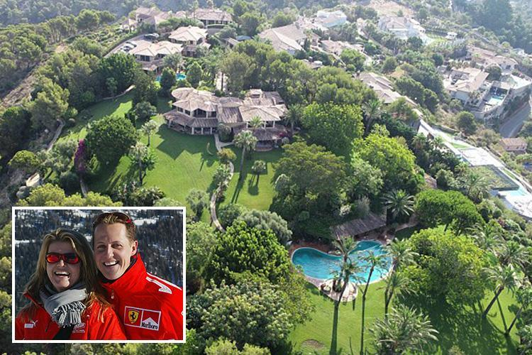 Michael Schumacher 'moving to new £27million mega-mansion in Majorca', claims local mayor