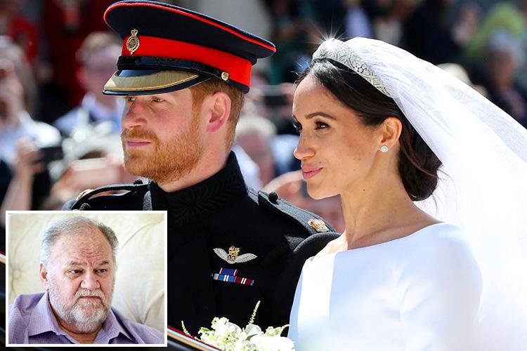 Meghan Markle told dad Thomas there was 'no room' for him to do a speech at the Royal Wedding