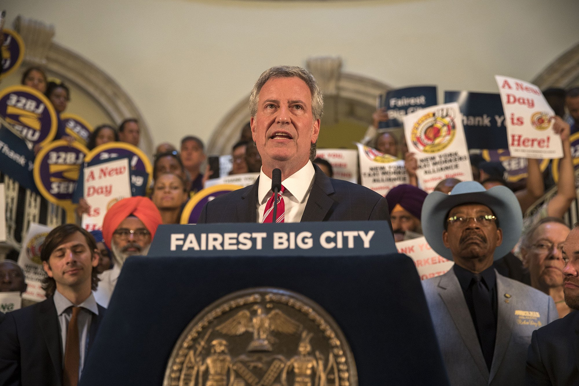 Small donors would have huge say under de Blasio commission proposal