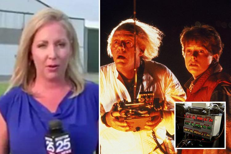 Reporter tricked into saying plane crash landed because of a 'flux capacitor' – the Back to the Future machine