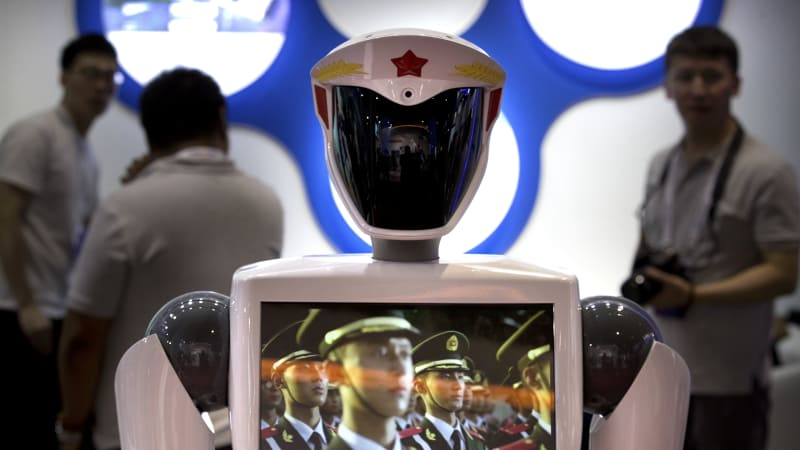 Robots caught in the crosshairs of US-China spat