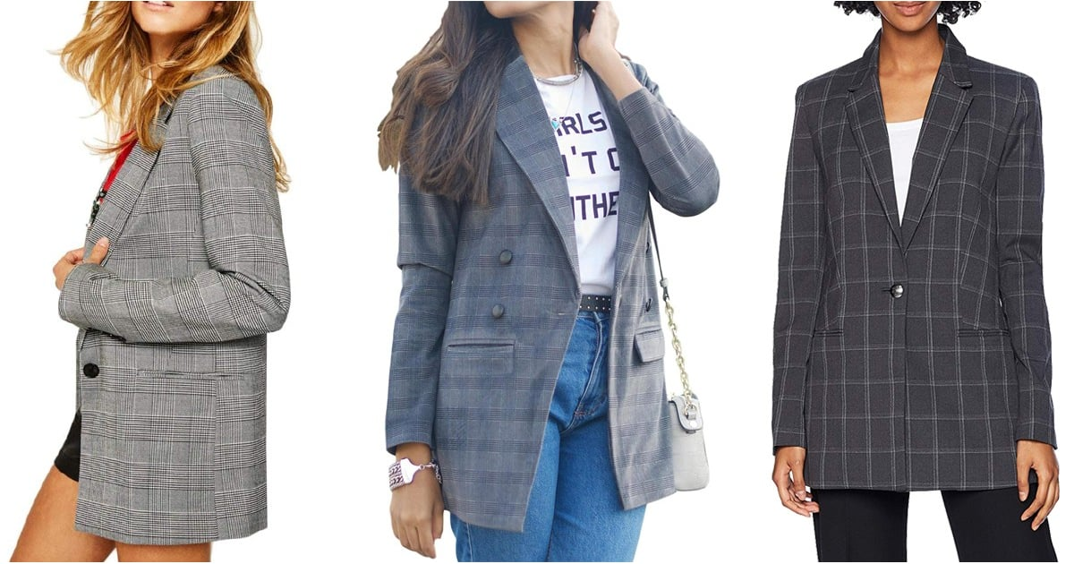 10 Plaid Blazers You'll Never Guess We Uncovered on Amazon — They're Too Good