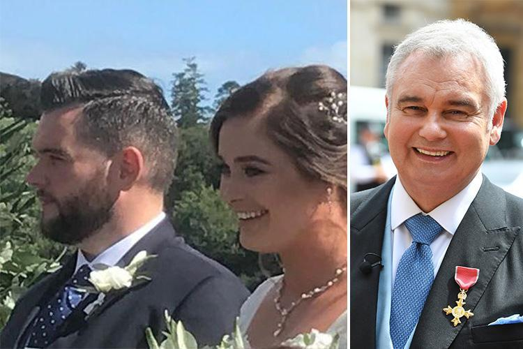 Eamonn Holmes shares first photo from his son Declan's wedding in Ireland