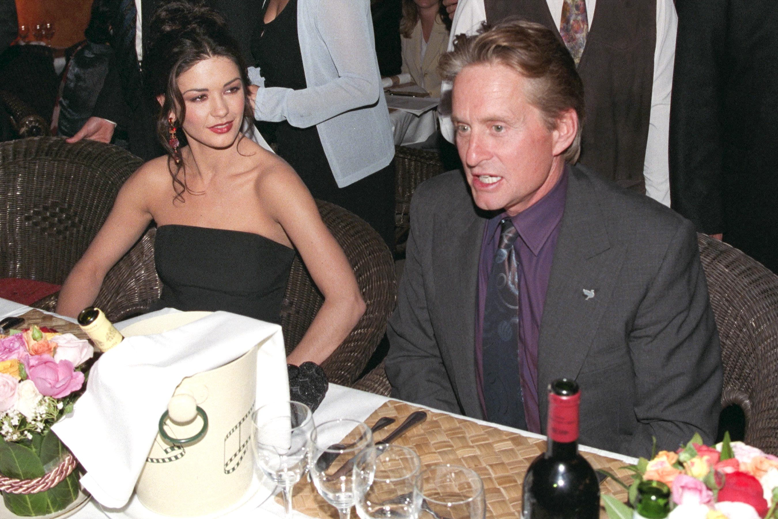 See When Catherine Zeta-Jones Met Michael Douglas for the 'First Time' in Sweet Throwback Photo