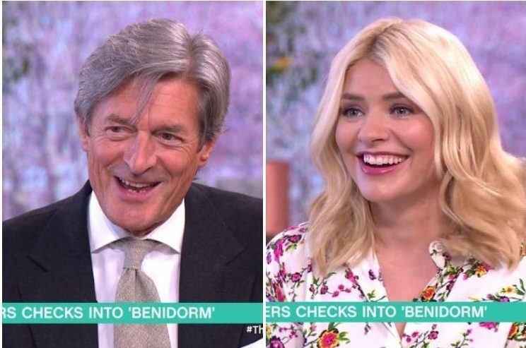Coronation Street's Nigel Havers lands presenting role on This Morning after outrageous flirting with Holly Willoughby