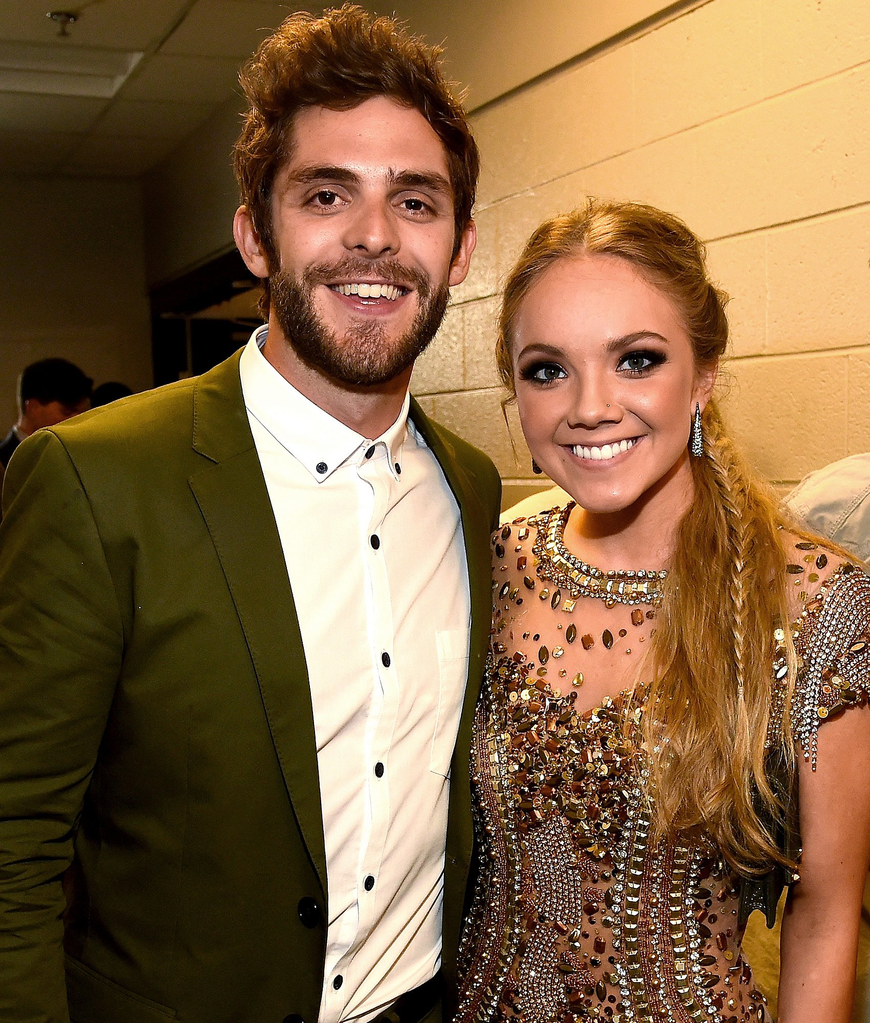 Thomas Rhett Jokes His 'Sole Job' on Danielle Bradbery Duet Was 'Trying Not to Sound Terrible'