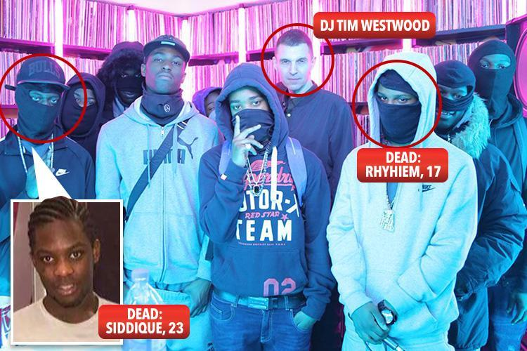 DJ Tim Westwood and YouTube accused of 'having blood on their hands' after the deaths of drill rappers who are fighting bloody gang wars