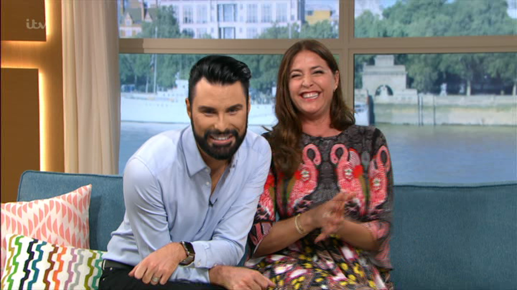 Rylan teases Lisa Snowdon as he reveals she's needed the loo since the start of This Morning but is too scared to go in the ad break