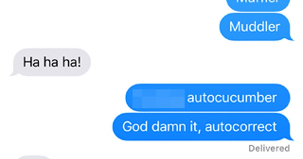 Why you should never change an autocorrected word right away- even if it's wrong