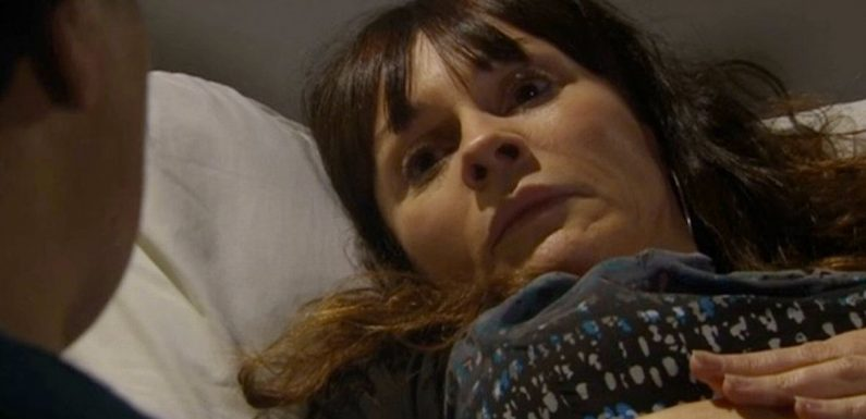 All about what is wrong with Emmerdale's Chas's baby as she goes into labour